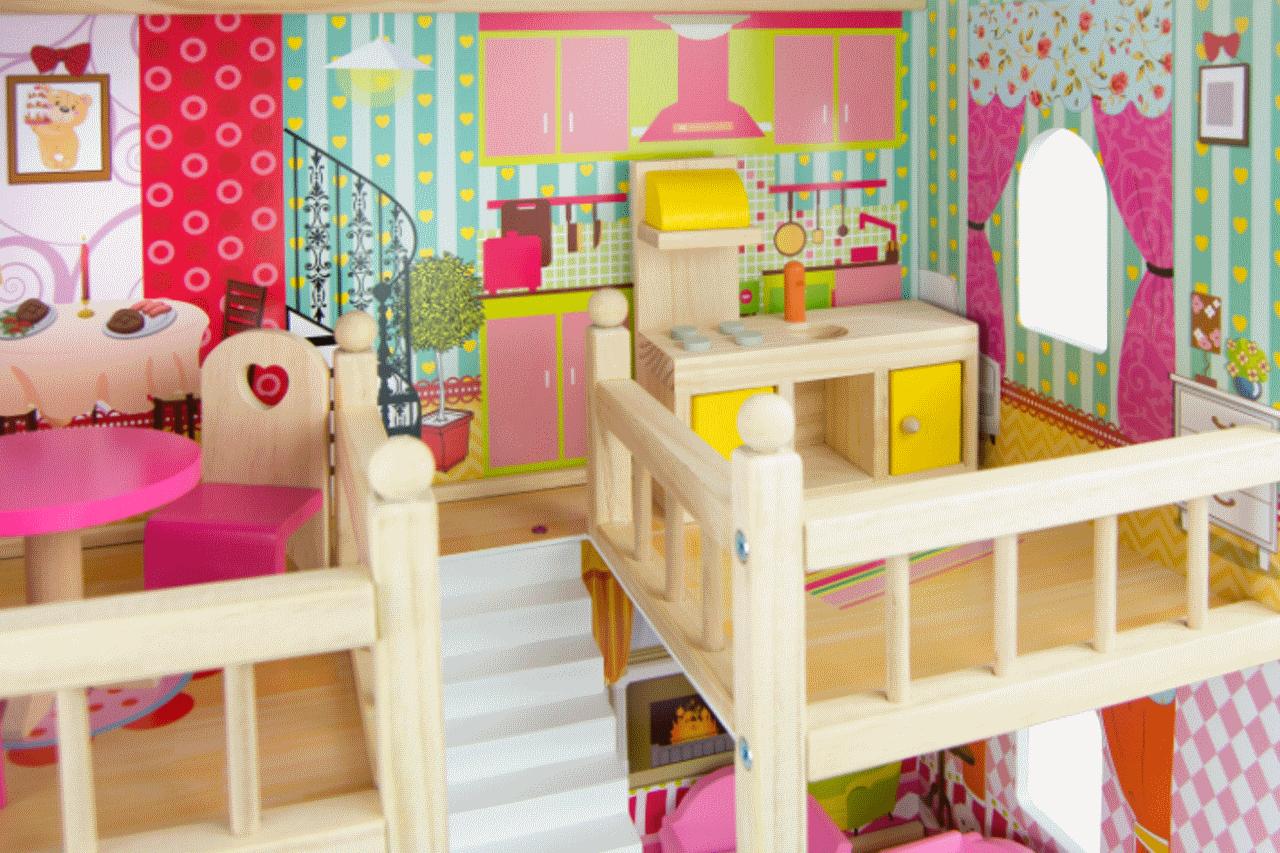 Dlaczego domki dla lalek to doskonały pomysł na prezent?